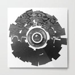Metal Sun Metal Print