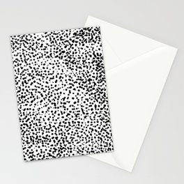 Retro Themed Dot Pattern Design Stationery Cards