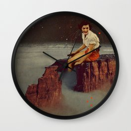 Only Hope Up Here Wall Clock