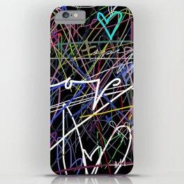 hearts-a-plenny iPhone Case