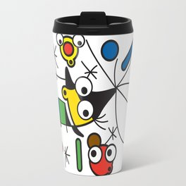 Ooh Zoo – art-series, Miro Travel Mug