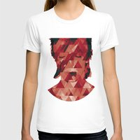 david bowie T-shirts featuring Bowie by Aivé Trujillo