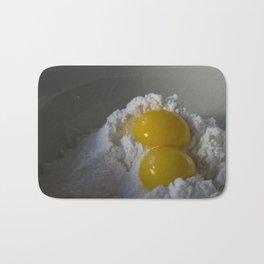 Morning cravings, pancake mix Bath Mat
