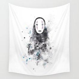 No Face Wall Tapestry