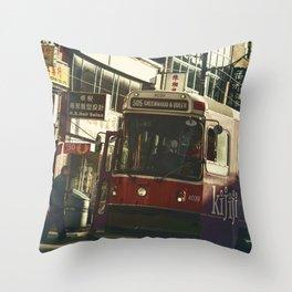 505 Dundas Streetcar China Town Throw Pillow
