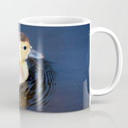 Cute Duckling Swimming in a Pond Coffee Mug