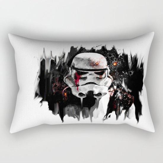 war is over Rectangular Pillow