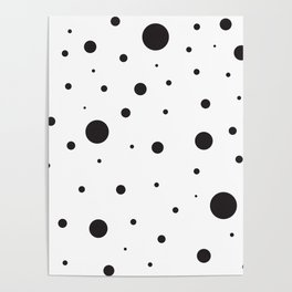 Circles and Dots Poster
