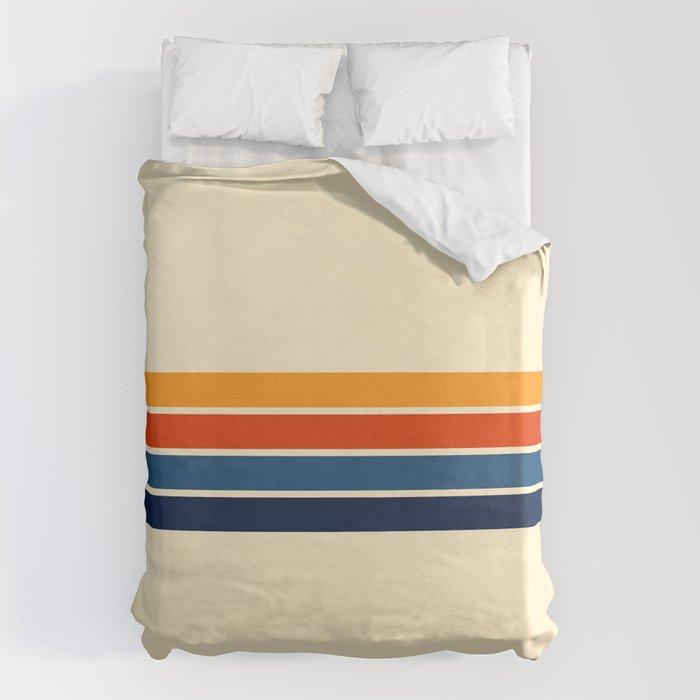 Classic Retro Stripes Bettbezug