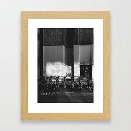 my bicicle Framed Art Print
