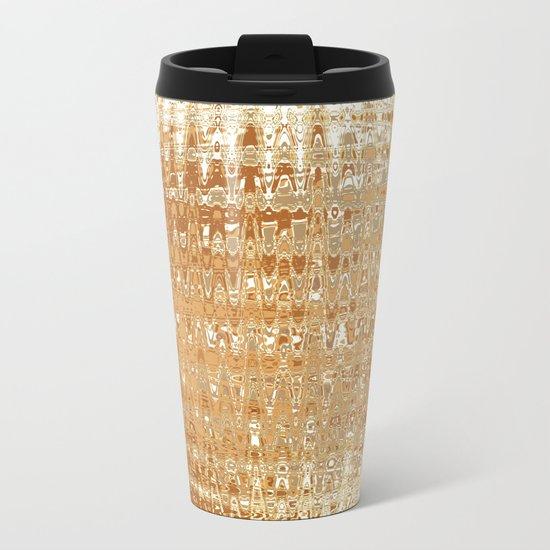 Golden Ball Metal Travel Mug