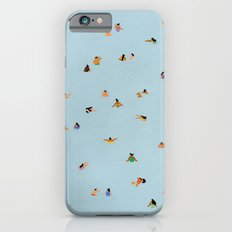 Dusty blue II iPhone 6s Slim Case