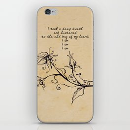 Sylvia Plath - I am iPhone Skin