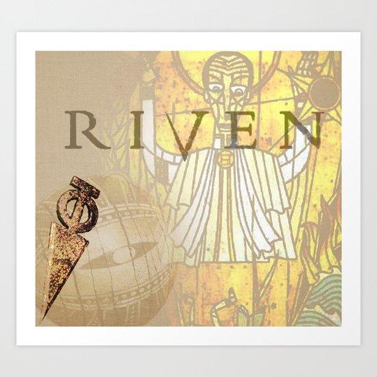 Riven Art Print