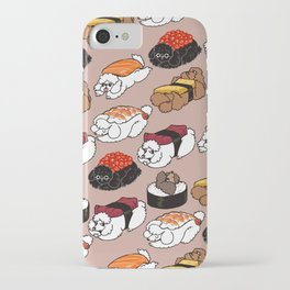 Sushi Poodle iPhone Case