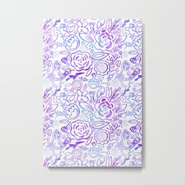 A Profusion of Flowers Metal Print