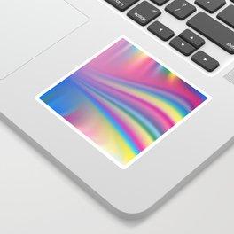 Vector - Gay rainbow gradient mesh blur background Sticker