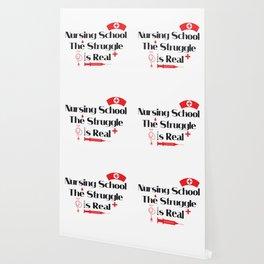 Nursing School Struggle Is Real Nurse Gifts Wallpaper