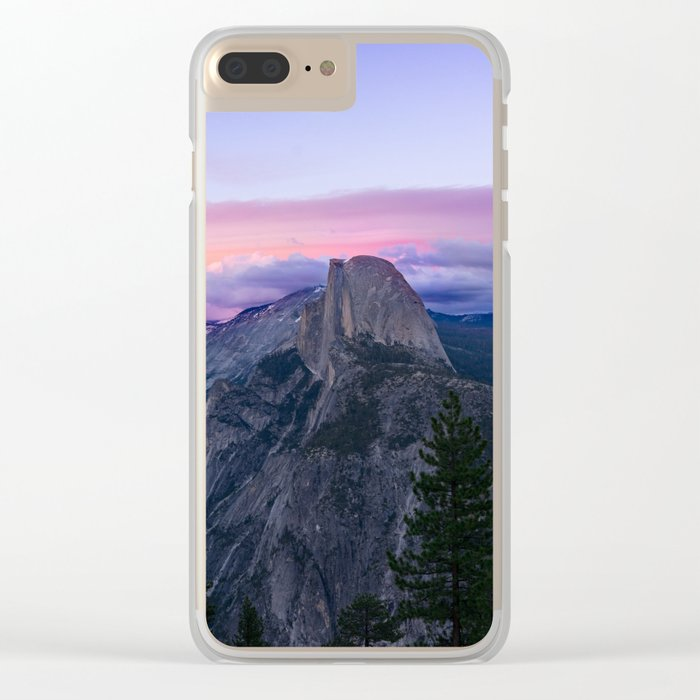 Yosemite National park #society6 Clear iPhone Case