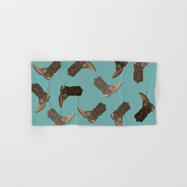 Cowboy Boots - pattern Hand & Bath Towel