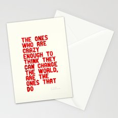 The Crazy Ones Stationery Cards