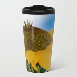 Sunflower in the Clouds 2 Travel Mug