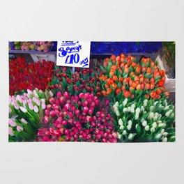 Flower market Rug