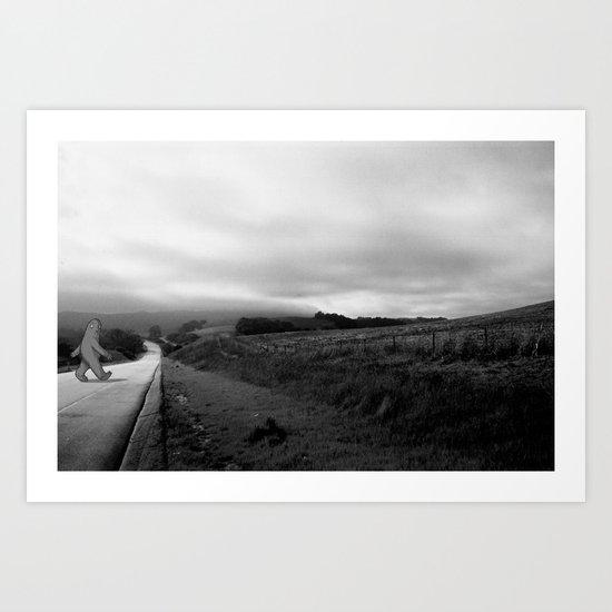 The Road Less Traveled Art Print