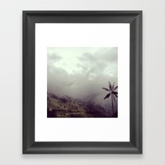 Valle del Cocora Framed Art Print