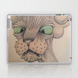 Cross-Eyed Sphynx Laptop & iPad Skin