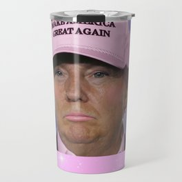 Make America Great Again - Kawaii Trump Travel Mug