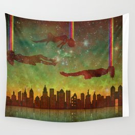 City Rising (Dreamers #2) Wall Tapestry