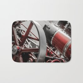 Miniature Traction Engine bywhacky Bath Mat