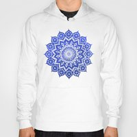 wind Hoodies featuring ókshirahm sky mandala by Peter Patrick Barreda