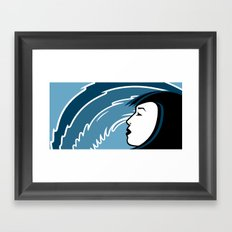 Waveslider Framed Art Print