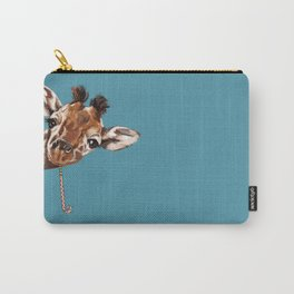 Sneaky Giraffe Carry-All Pouch