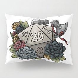 Barbarian Class D20 - Tabletop Gaming Dice Pillow Sham