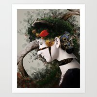 Mechanical Mother Nature Art Print