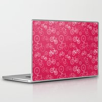 bicycles Laptop & iPad Skins featuring Bicycles by Kippy