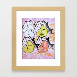 Ladies of Japan Framed Art Print