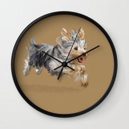A Yorkie called Joy Wall Clock
