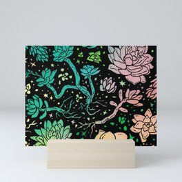 Succulent Supercluster Mini Art Print