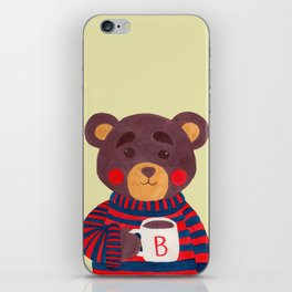 Winter Season is Coming (Bear Version) iPhone Skin