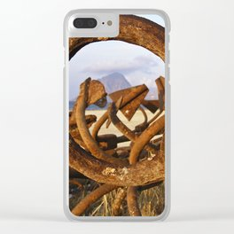 """ANCHOR - ENCORE - Trapani - Sicily - """"Vacancy"""" zine Clear iPhone Case"""