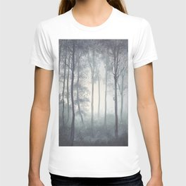 Frozen Fog in the Forest T-shirt