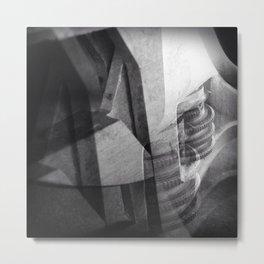 Works (No.4/Re-invented) Metal Print
