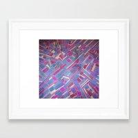 tina crespo Framed Art Prints featuring Tina by Marina Scheinost