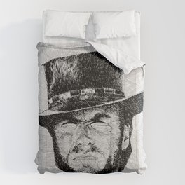 Blondie portrait drawing #1 Comforters
