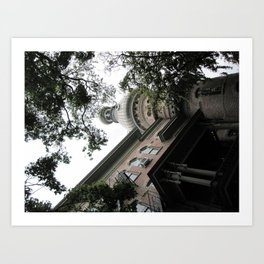 University of Tampa Art Print