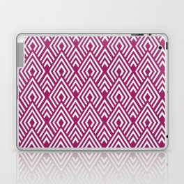 Marsala Diamond Pattern Laptop & iPad Skin